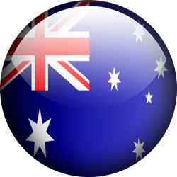 Australia button by Lassal