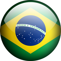 Brazil button by Lassal