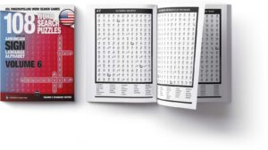 project fingeraphabet asl word search book sample