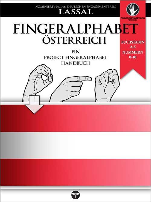 ÖGS österreichisches Fingeralphabet Handbuch von Project FingerAlphabet