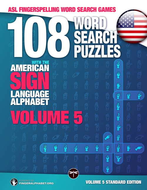 ASL WORD SEARCH BOOKS FOR ADULTS / Volume 04 (Bundle Volumes 01+02+03)