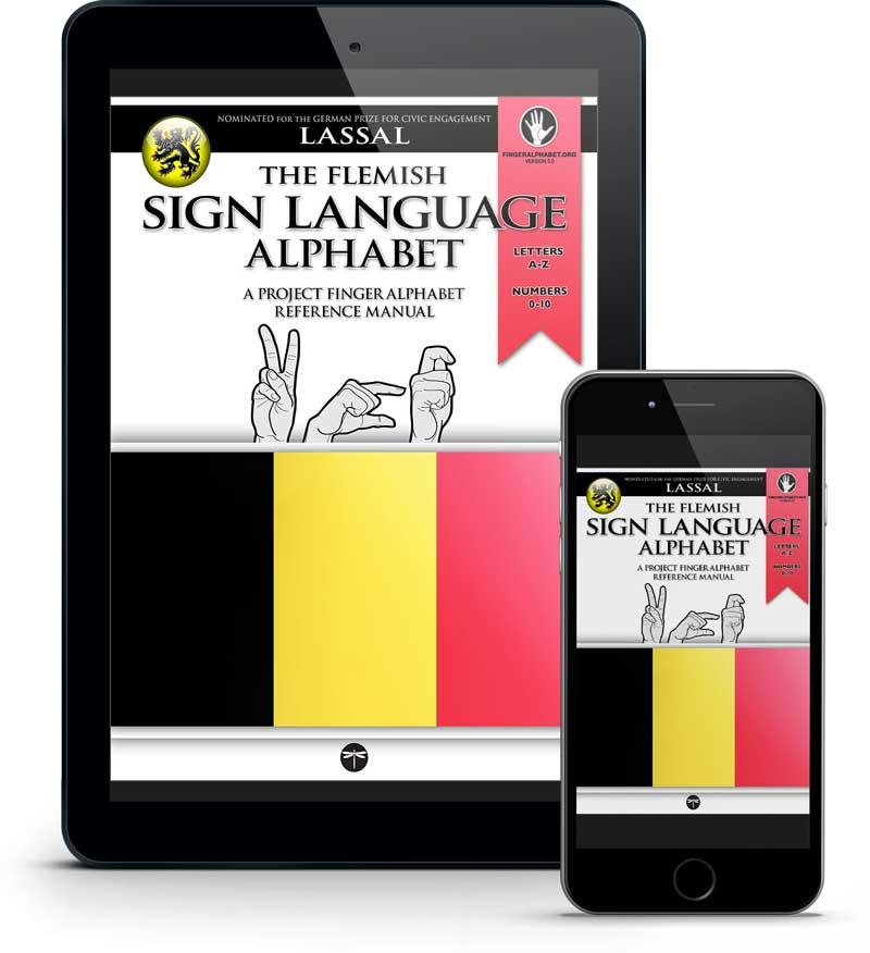 VGT Flemish Sign Language Alphabet Reference Guide