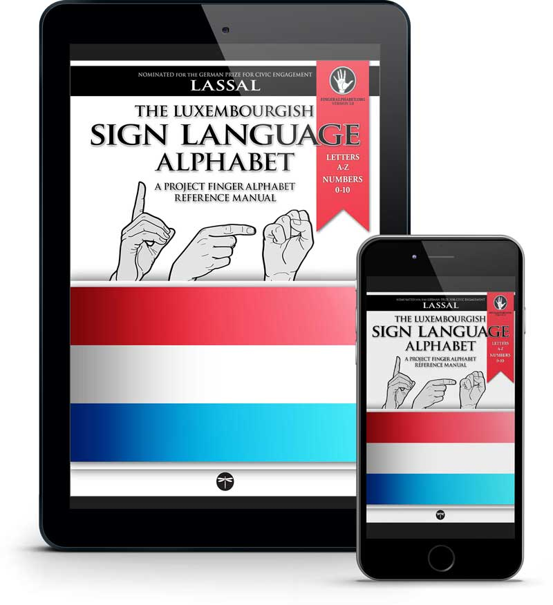 the Luxembourgish Sign Language Alphabet by Project FingerAlphabet