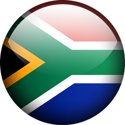South Africa button by Lassal