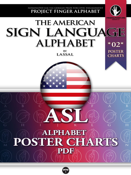 ASL Poster Charts 02 Project FingerAlphabet