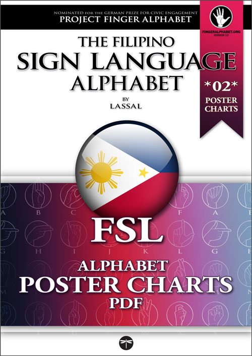 FSL Filipino Sign Langugae PosterCharts 02 - Project FingerAlphabet