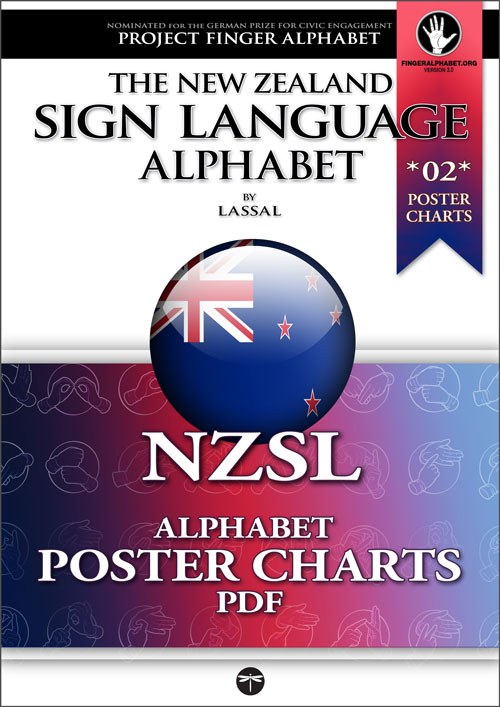 NZSL Alphabet by Lassal for Project FingerAlphabet