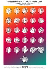 VGT Flemish Alphabet by Lassal for Project FingerAlphabet